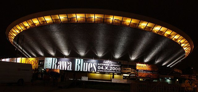Spodek Hall before Rawa Blues Festival edition 28th, 2008